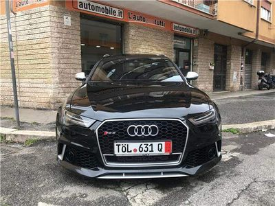 usata Audi RS6 S6 Avant 4.0 TFSI quattro S tronic