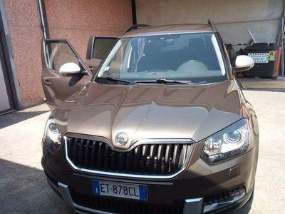 usata Skoda Yeti Outdoor 2.0 TDI CR 140 CV 4x4 Elega
