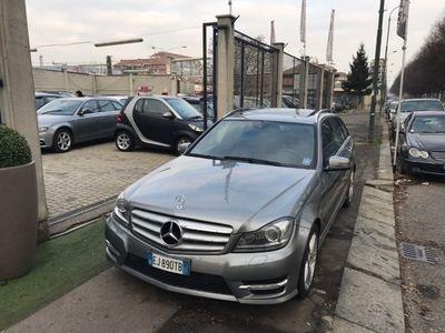 usata Mercedes C220 CDI S.W. BlueEFFICIENCY Avantgarde-AMG-TETTO-NAVI-