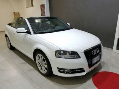 usata Audi A3 Cabriolet A3 2ª serie 1.6 TDI 105 CV CR Attraction
