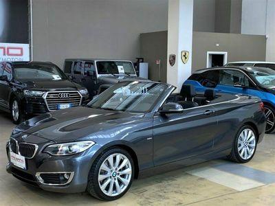 "usata BMW 220 d Cabrio Luxury Automatica - LED - Navi PRO - 18"""