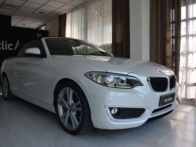 usata BMW 220 Serie 2 Cabrio Advantage- AUTOMATICA- TOP OPT!