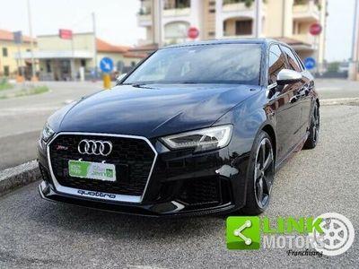 usata Audi RS3 Sportback -quattro s tronic* unico proprietario*