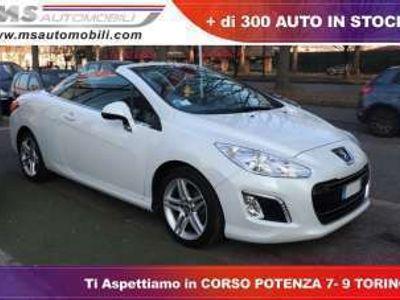 usata Peugeot 308 CC 1.6 e-HDi 112CV Stop&Start Allure Unicoproprietario
