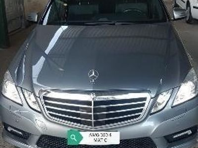 brugt Mercedes E350 CDI BlueEFFICIENCY 4M. Avantg. AMG TETTO PANORAMIC
