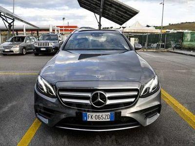 usata Mercedes 220 Classe E Station Wagond 4Matic Auto Premium del 2017 usata a Ancona