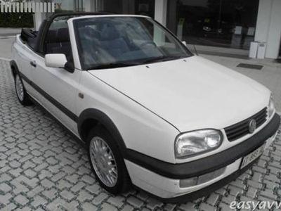 usata VW Golf Cabriolet Golf 1.6 cat Classic