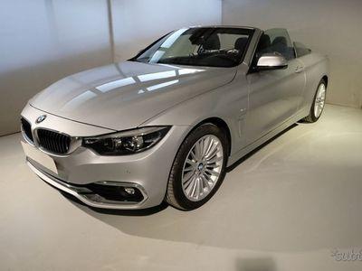 usata BMW 420 Serie 4 Cabrio d Cabrio Luxury