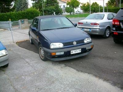 usata VW Golf Cabriolet 1.8cat gpl