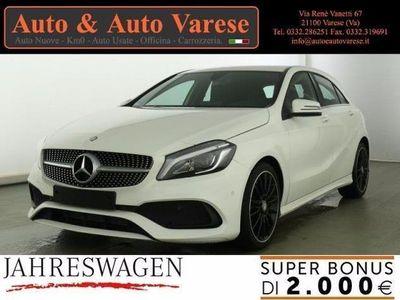 usata Mercedes A180 CLASSE APREMIUM AMG + FULL LED + NAVY + PARKASSIST