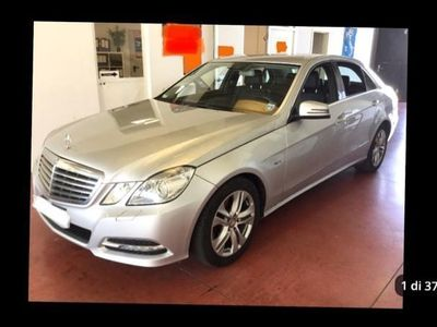 brugt Mercedes E250 CDI BlueEFFICIENCY Avantgarde Full Optional