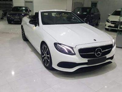 """usado Mercedes E220 Cabrio Auto """"Night Edition"""" ***AZIENDALE***"""