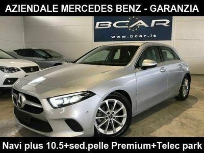 usata Mercedes A180 d Automatic Sport +Sed.Pelle Premium +Virtual+Navi