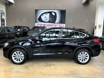 "usata BMW X4 xDrive20d Automatica - 18"" - Pelle nera"