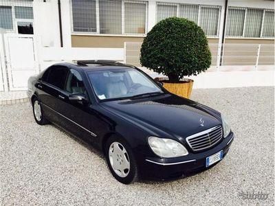 usata Mercedes S600 lunga full optional - 2001