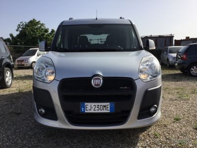 käytetty Fiat Doblò 1.6Mjt 7 posti - 2011-GARANTITA-M&A