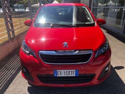 usata Peugeot 108 PureTech 82 5 porte Allure GPL BRC Benzina