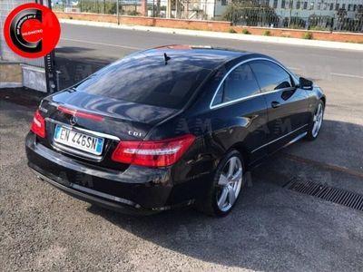 usata Mercedes 220 Classe E CoupéCDI Coupé BlueEFFICIENCY usato