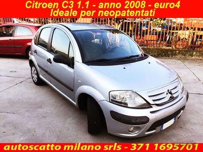 usata Citroën C3 1.1 euro4 benzina -Neopatentati - 2008