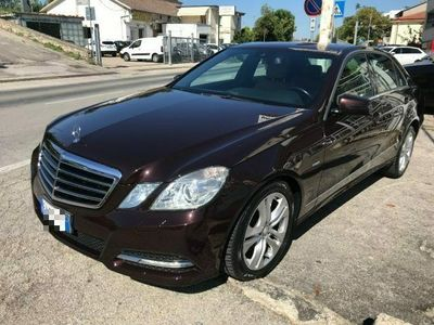 usata Mercedes E350 CDI BlueEFFICIENCY Avantgarde