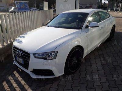 usata Audi A5 Sportback 2.0 TDI 190 CV clean diesel quattro S tr. S line ed. del 2017 usata a Cecina