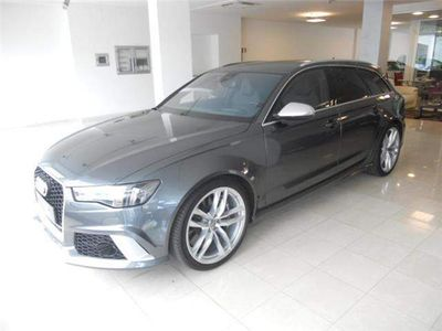 brugt Audi RS6 Avant 4.0 TFSI quattro tiptronic dynamic plus