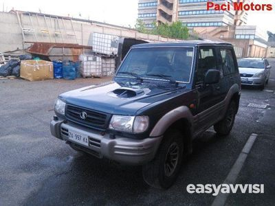 brugt Hyundai Galloper TDI Corto usato