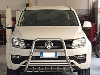 usata VW Amarok Veicoli CommercialiV6 TDI 4MOTION BMT permanente aut. DC Comfortline del 2019 usata a Milano
