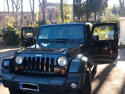usata Jeep Wrangler sahara