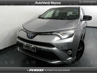 usado Toyota RAV4 Hybrid 2WD Exclusive del 2018 usata a Monza