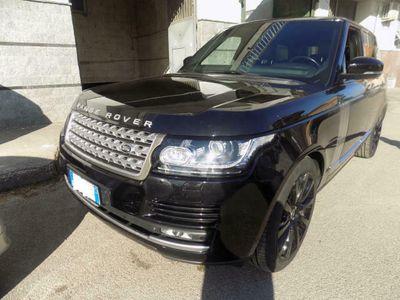 used Land Rover Range Rover VOGUE 4.4 SDV8 340 CV AUTO 4X4 GANCIO TRAINO