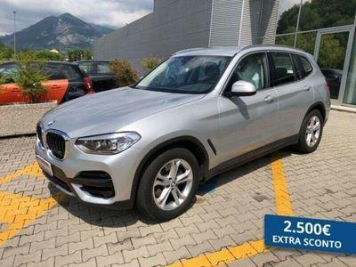 usata BMW X3 xdrive20d Business Advantage 190cv auto