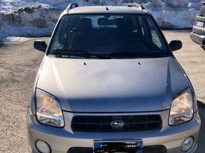 usata Subaru Justy 1.3i 16v G3X Airco AWD