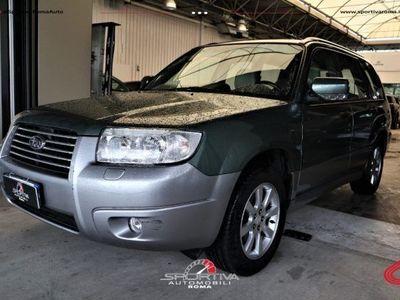 usata Subaru Forester NAVI GPL KM REALI!!!2.0 16V cat X AT Bi-Fuel Benzina/GPL