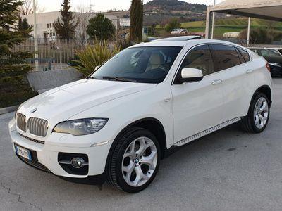usado BMW X6 xDrive40d Futura-TETTO-TELECAMERA-NAVI-