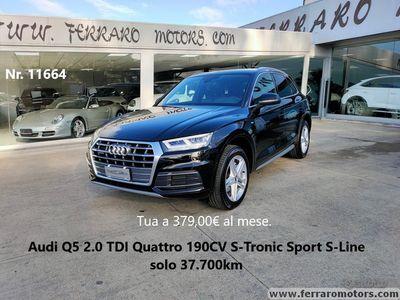 usata Audi Q5 2.0 TDI Qtr. S-Tr. Sport S-Line 37.700km