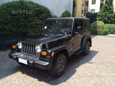 usata Jeep Wrangler 2.4 Sport Trail Rated METANO!!!