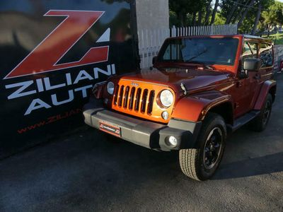 usata Jeep Wrangler 2.8 CRD DPF Sahara Auto..NAVI..PELLE..200CV..