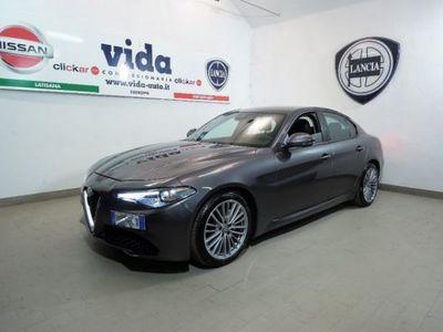 """gebraucht Alfa Romeo Giulia 2.2 TURBODIESEL 180 CV AT8 SUPER XENO LED LEGA 18"""""""