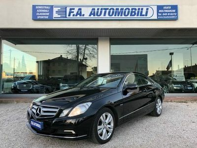 usata Mercedes E350 CDI Coupé BlueEFFICIENCY Avantgarde