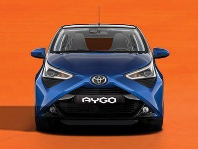 second-hand Toyota Aygo 1.0 VVT-i 72 CV 5 porte x-cool MMT