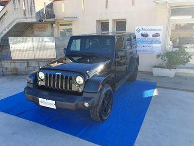 usata Jeep Wrangler Unlimited 2.8 CRD DPF Sahara A.
