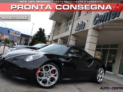 usata Alfa Romeo 4C Spider 1750 TBi NERO ALFA Sport Exhaust