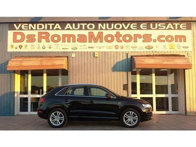 usata Audi Q3 2.0 TDI quattro S tronic S LINE XENON NAVI SIDE AS