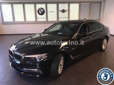 second-hand BMW 520 SERIE 5 BERLINA NUOVA D XDRIVE LUXURY LINE