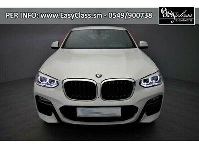 usata BMW X4 xDrive20d xLine NAVI LED CRUISE CONTROL