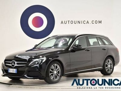 usata Mercedes C200 D S.W. AUTOMATIC SPORT UNIPR