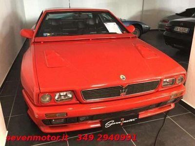 usata Maserati Shamal 3.2i turbo 32V cat V8 326 cv. coupè 2+2 *1991