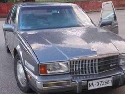 usata Cadillac Seville Full optional, anno 1988, ASI, buoni condizioni