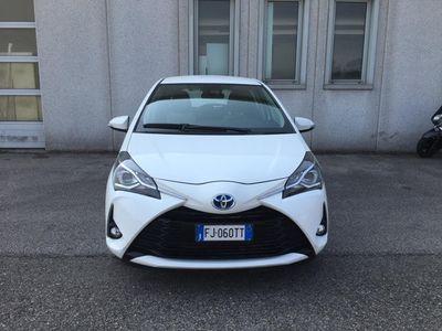 usata Toyota Yaris 1.5 Hybrid 5 porte Team del 2017 usata a Cesenatico